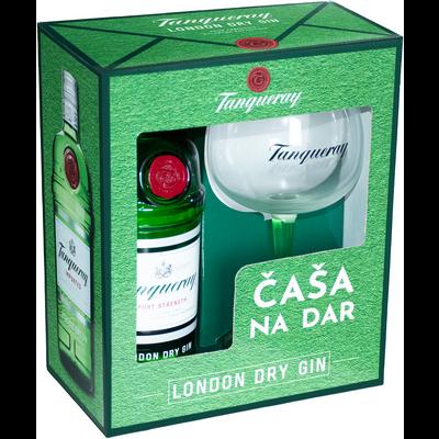 Tanqueray dry gin 0.7l + copa čaša