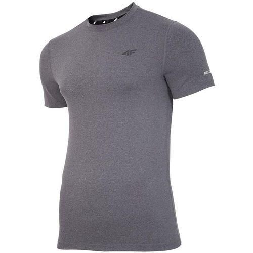 4f men's t-shirt h4z17-tsmf001darkgrey slika 1