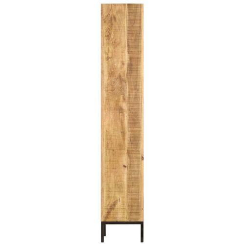 Police za knjige od masivnog drva manga 40 x 30 x 175 cm slika 12