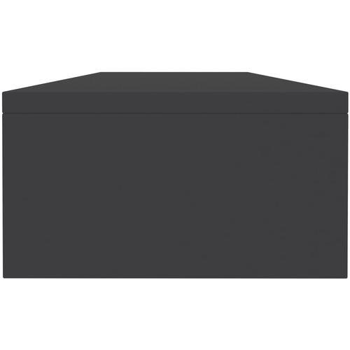 Stalak za monitor sivi 100 x 24 x 13 cm od iverice slika 13