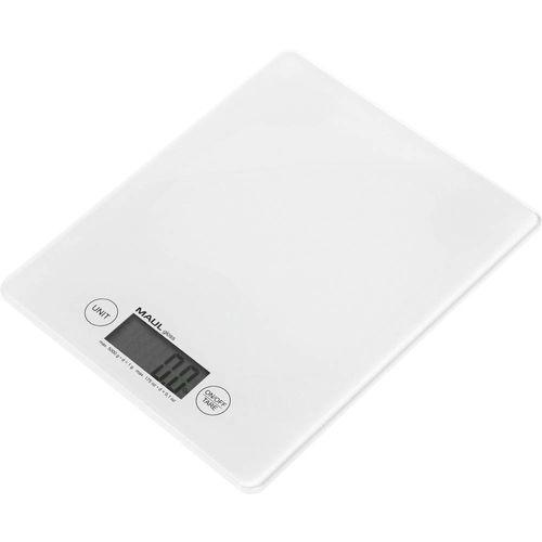 Vaga za pisma Maul Opseg mjerenja (kg) 5000 g Mogućnost očitanja 1 g baterijski pogon Bijela slika 1