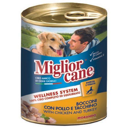 Miglior hrana za pse piletina puretina 405g slika 1
