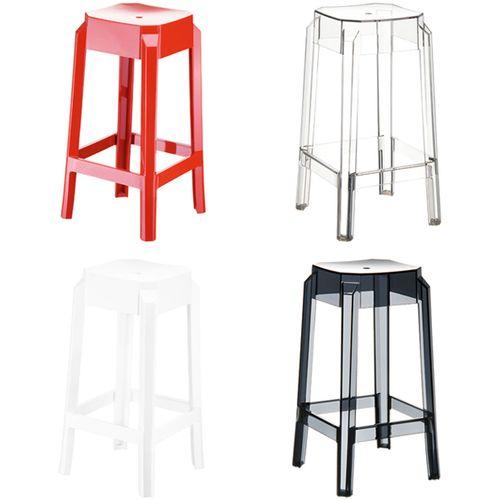 Dizajnerska barska stolica — POLY slika 4