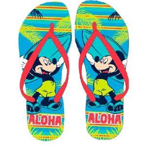 Šarene dječje japanke s likom Mickey Mousea osigurat će vesele trenutke na plaži. :)  Sastav: 100% EVA