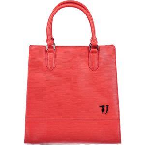 Bag, 2 handles, 2 side pockets, adjustable and detachable shoulder strap, closing with zip, logo