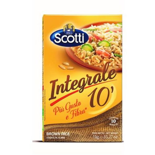 Riso Scotti - INTEGRALE Brown Rice (priprema 10 minuta) smeđa riža 1 kg slika 1
