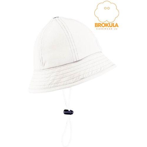 BROKULA ALOSA UV šešir baby, bijeli vel. XS slika 1
