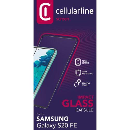 Cellularline zaštitno staklo za Samsung Galaxy S20 FE slika 2