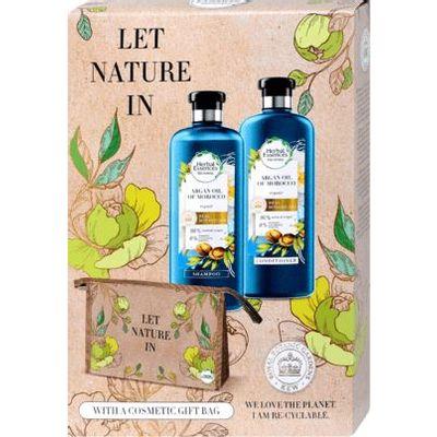 Herbal Essences šampon za kosu Repair s arganovim uljem 400 ml + Herbal Essences regenerator za kosu Repair s arganovim uljem 360 ml