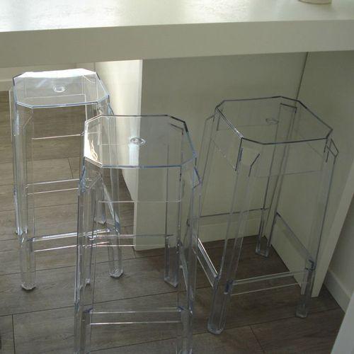 Dizajnerska barska stolica — POLY slika 11