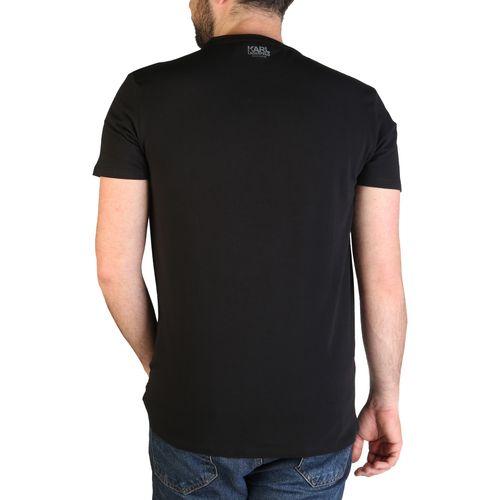 Karl Lagerfeld muška majica KL21MTS02 Black slika 2
