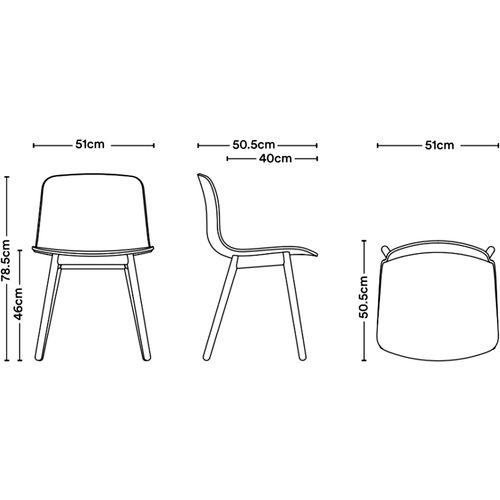 Dizajnerska stolica — by WELLING • 1 kom. slika 2
