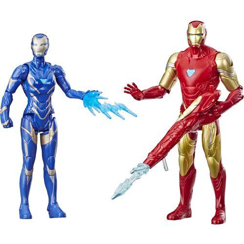 Marvel Avengers Iron Man y Marvels Rescue set figures slika 1