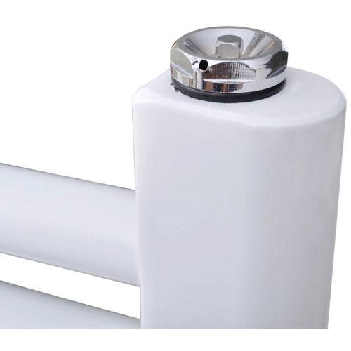 Kupaonski Radijator za Centralno grijanje Zaobljenih cijevi 480 x 480 mm Bočni & Srednji priključak  slika 14
