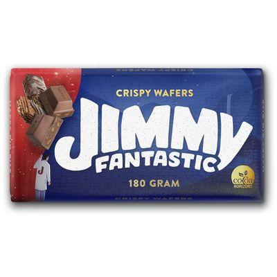 Mliječna čokolada s prelivenim i neprelivenim vaflima