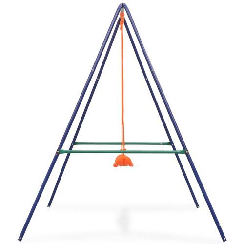 2-u-1 obična ljuljačka i ljuljačka za malu djecu narančasta slika 29
