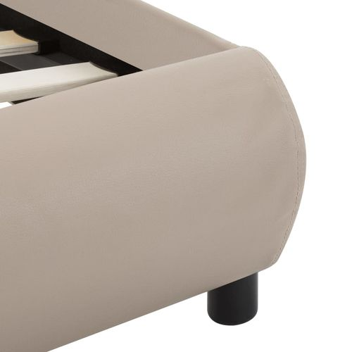Okvir za krevet od umjetne kože boja cappuccina 120 x 200 cm slika 5