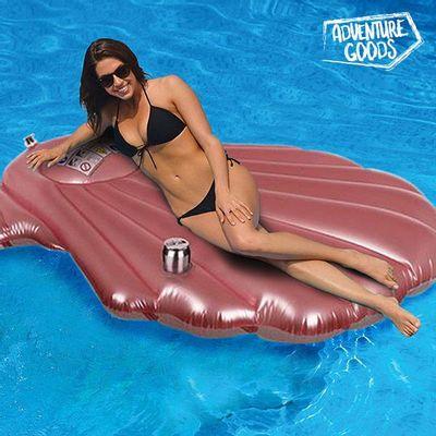 Sjajno se zabavite ovoga ljeta uz originalniMadrac na Napuhavanje Morska Školjka Adventure Goods! Ovaj zabavni madrac na napuhavanje za plažu i bazen idealan je za ugodno opuštanje u vodi. Izrađen od PVC-a Maksimalna nosivost: 80 kg Preporučena...