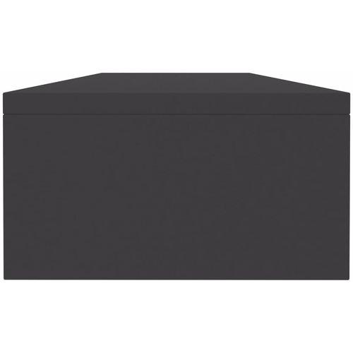 Stalak za monitor sivi 100 x 24 x 13 cm od iverice slika 10