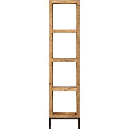 Police za knjige od masivnog drva manga 40 x 30 x 175 cm slika 2