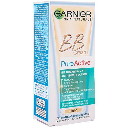 Garnier Skin Naturals Pure Active BB Light krema 50 ml protiv bubuljica slika 3