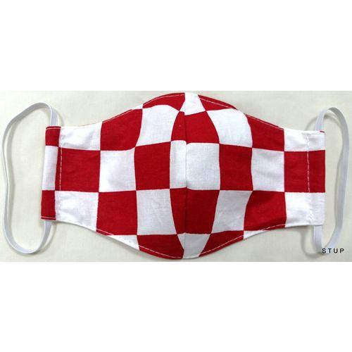 Dječja pamučna maska za lice - Kids 7-14 Croatia slika 1