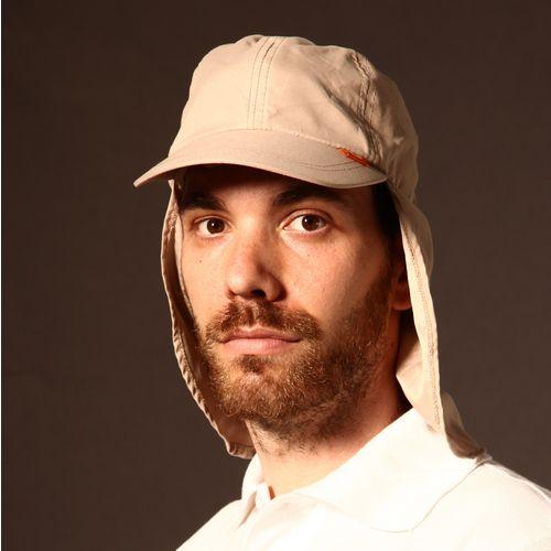 BROKULA SARDA UV kapa sa plaštom na skidanje, bež, ONE SIZE slika 4