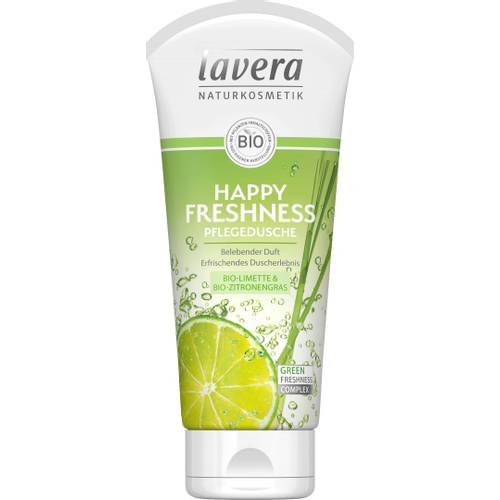 LAVERA Gel za tuširanje happy freshness BIO 200ml slika 1