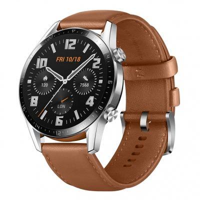 Huawei Watch GT2 46mm Classic - Pametni Sat (SmartWatch). Sat koji možete bezbrižno koristiti danju i noću do 2 tjedna.    - Briljantan AMOLED zaslon s 3D staklenom površinom (dojam bez okvira)    - Profesionalan sportski trener s TruSeen™ 3.5 tehnologijom    - Idealan za planinarenje (barometar, kompas i visinomjer)    - Otporan na vodu do 5 atmosfera    - Prati otkucaje srca i dok plivate (i inače)    - SWOLF    - GPS i GLONASS    - Životni asistent    - Reprodukcija glazbe    - Praćenje kvalitete sna     - TruSleep™ 2.0  tehnologija    - TruRelax™ za oslobađanje od stresa    - Cijelodnevno praćenje aktivnosti (brojač koraka, potrošnja kalorija, broj ustajanja i intenzitet aktivnosti)