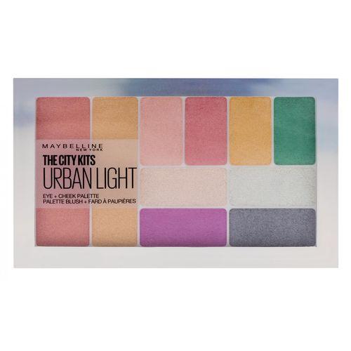 Maybelline New York City Kits Paleta sjenila za oči, rumenilo, highlighter Urban slika 1