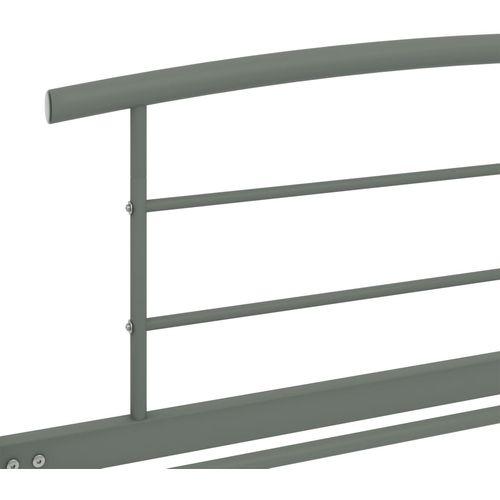 Okvir za krevet sivi metalni 90 x 200 cm slika 9