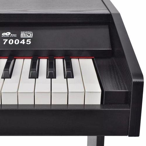 Digitalni klavir s pedalama crnom melaminskom pločom i 88 tipki slika 2