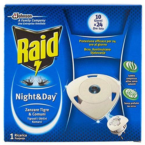 Raid night&day refil - protiv komaraca i tigrastih komaraca slika 1