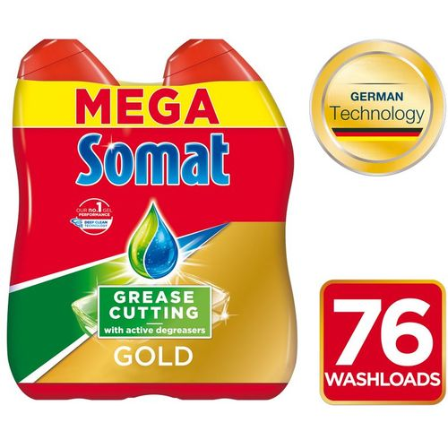 Somat Gold Gel Antigrease 2x684ml, 76wl slika 1