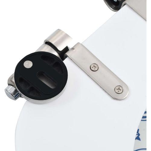 Toaletna daska s mekim zatvaranjem 2 kom MDF uzorak porculana slika 8