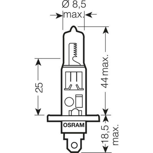 Halogena žarulja OSRAM COOL BLUE® INTENSE H1 55 W slika 3