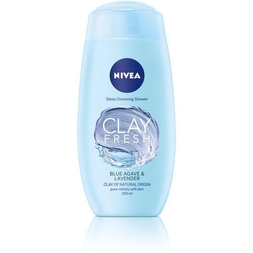 NIVEA Clay Blue Agave & Lavander gel za tuširanje slika 1