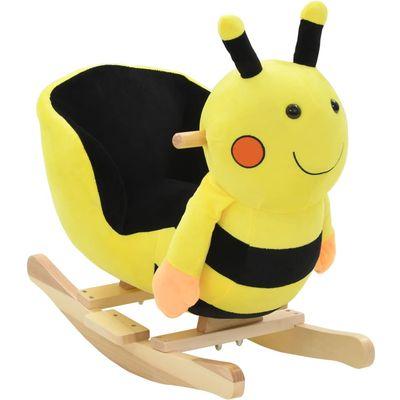 Vaša djeca rado će se igrati s našim slatkim bumbarom za ljuljanje! Bit će njihova omiljena igračka i donijet će udobnost i užitak. Životinja za ljuljanje ima snažan metalni okvir, mekano punjenje i plišanu navlaku, kao i čvrstu drvenu bazu....