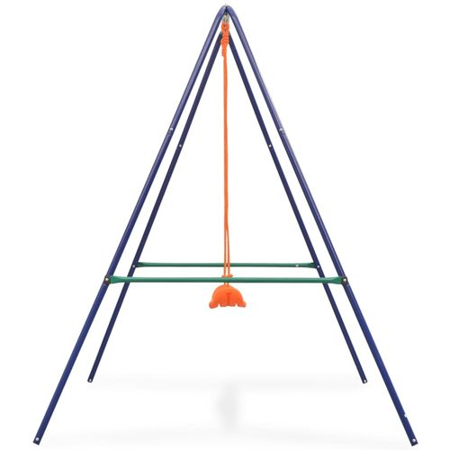2-u-1 obična ljuljačka i ljuljačka za malu djecu narančasta slika 19