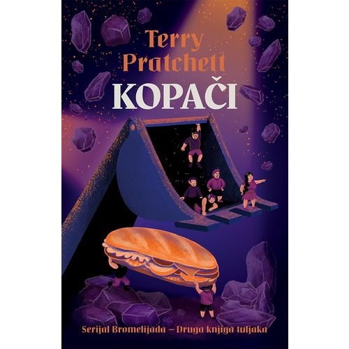 Kopači - druga knjiga tuljaka - serijal Bromelijada slika 1