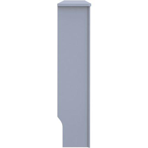 Pokrov za radijator antracit 152 x 19 x 81 cm MDF slika 12