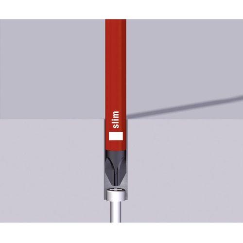 VDE križni odvijač Wiha 3241 SF 1x80 SLIM-LINE 35395 PZ 1 duljina oštrice: 80 mm DIN ISO 8764 slika 2