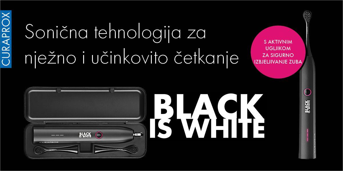 Curaprox Hydrosonic Black Is White