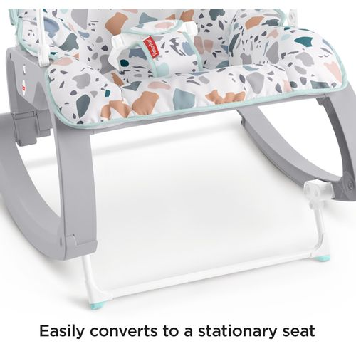 Fisher-Price Terrazzo 2u1 Newborn to Toddler Rocker / 0-18kg slika 4