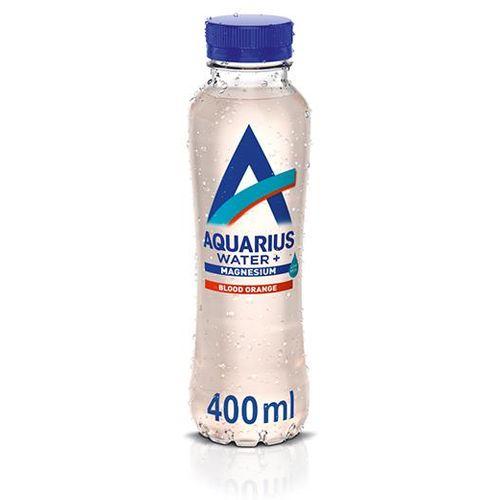 Aquarius Water voda s okusom crvene naranče obogaćena magnezijem  400 ml slika 1