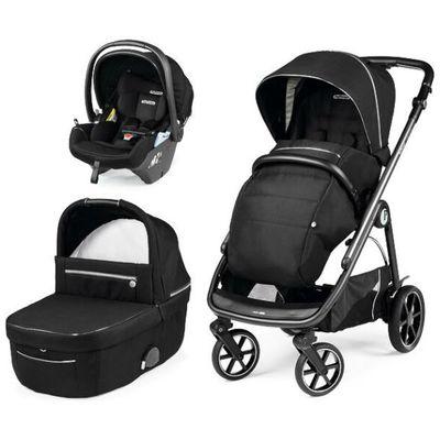 Peg Perego 3u1 dječja kolica Veloce Lounge je modularni sustav proizveden u Italiji koji se kreće sinkronizirano s vašim životnim stilom, okretnim i brzim pokretima. Izuzetno lagane upravljačke performanse kao nikada prije. Širina je samo 51 cm i s lakoćom prolazi test dizala. Izuzetno kompaktno sklapanje. Prostrana i udobna košara za novorođenče. Sigurno putovanje zagarantirano je uz bebinu prvu i- Size autosjedalicu – Primo Viaggio Lounge s mogućnošću prilagodbe nagiba za udobno i sigurno ležanje.