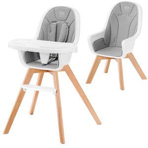 """TIXI – stolica za hranjenje beba """"2 u 1""""  TIXI je hranilica koja raste s vašim djetetom i s vremenom postaje stolica za starije dijete. Sjedalo ima uklonjivu, vodootpornu navlaku za pranje, a velika podesiva ladica ima dovoljno mjesta za šalicu ili bocu."""