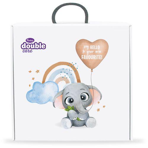Violeta baby vlažne maramice kutija 4 pack-ljubičaste slika 1