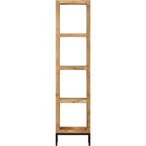 Police za knjige od masivnog drva manga 40 x 30 x 175 cm slika 11