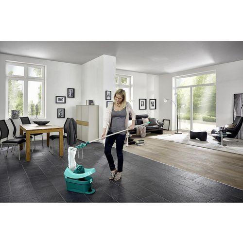 Leifheit set za čišćenje podova sa kotačićimapress profi xl, 42cm, 8l slika 2